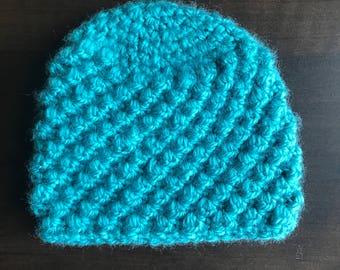 Crochet Baby Hat, Bubble Pattern