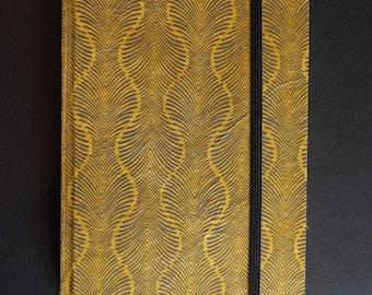 Vertical white binding craft book