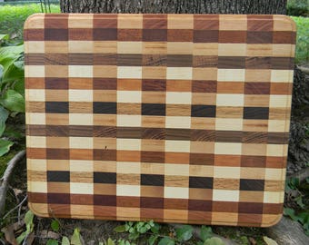 Checkered Cutting Board (Large)