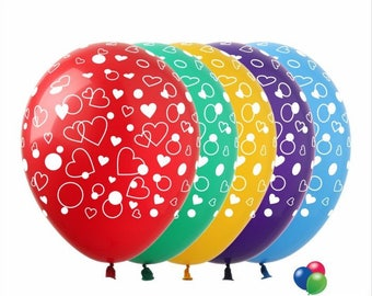 Wedding Birthday decorations Latex Balloons Helium bridal shower engagement colored 12-inch Balloons styling party supplies wholesale
