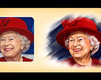 Custom Family Portrait Illustration-DIGITAL FILE ONLY