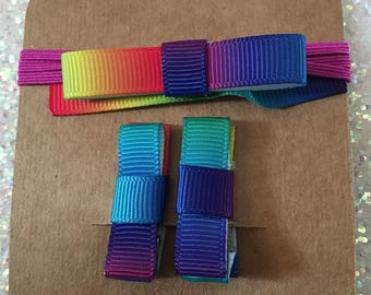 Baby hair clips and baby hair band