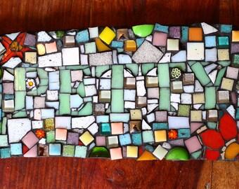 Petty Mosaic Plaque
