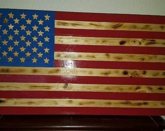Rustic Amercian Flag