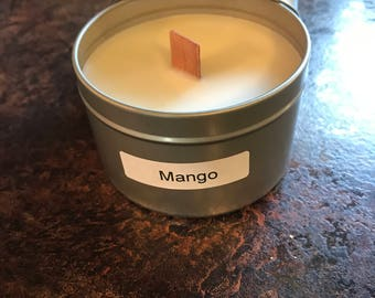 Mango 8 oz soy wax candle