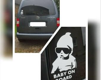 Bumper sticker - cool baby