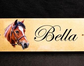 Horse Photo Name Plates