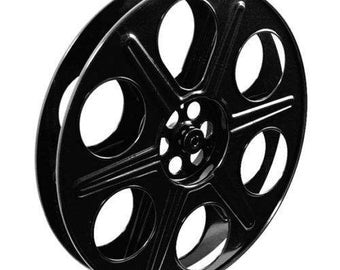 Home Theater Movie Reel Art Wall Décor - Cinema Film Reel - VARIOUS Finishes