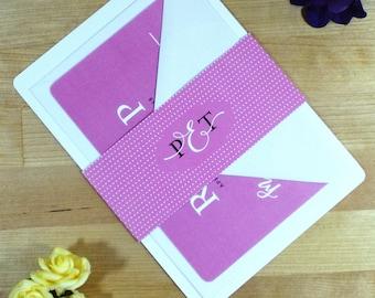 Floral Wedding Invitation - Sample