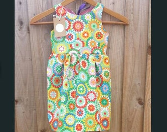 Age 3 cut out back dress