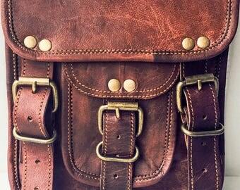 Genuine leather Ladies shoulder bag, sling bag , Messenger bag, Cross Body Bag