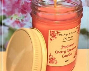 Japanese Cherry Blossom 8oz Candle