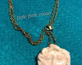 Moon necklace fantasy jewelry