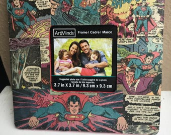 SuperMan Picture Frame