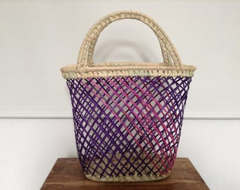 Handmade basket from Mozambique