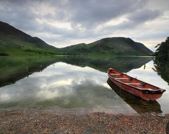 Fine Art or Canvas Print - Crummock Water, Lake District