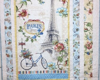 Paris Forever Wall Hanging Quilt