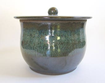 Large Galaxy Lidded Jar
