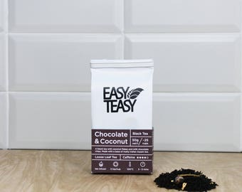 Chocolate and Coconut Loose Leaf Tea 50g