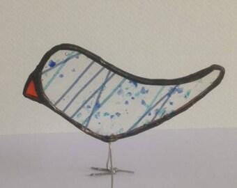 Stained Glass Bird Suncatcher