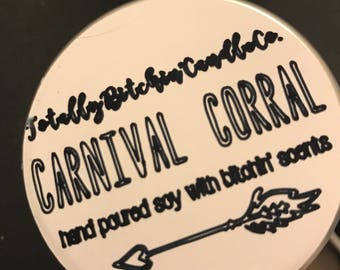 Carnival Corral Candle