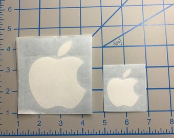 Apple Logo Vinyl Sticker