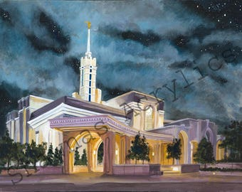 LDS Mount Timpanoogas Temple