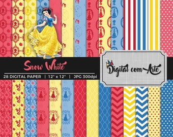 Snow White Digital Paper