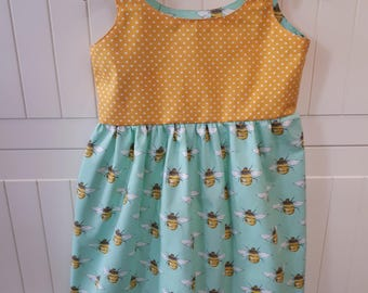 Handmade girls/ toddlers summer dress 4-5 years