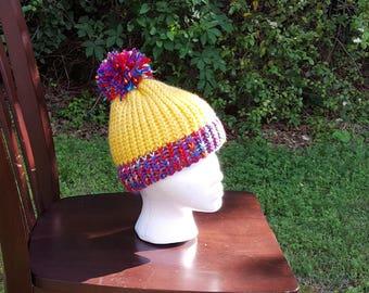 Yellow Funfetti Kid's Hat