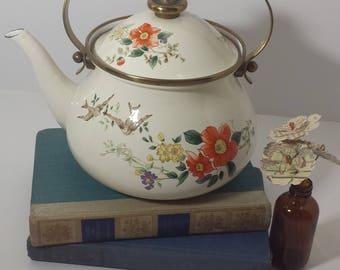 Vintage Japanese Mikasa Grande Chef teapot kettle