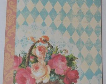 Floral Mini Album