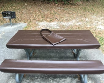 table glove fitted marine grade vinyl picnic tablecloth sets picnic table cloth cover rootbeer