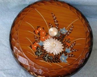Floral Japanese Keepsake Box