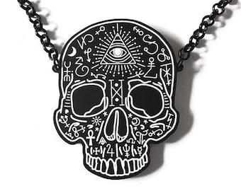 Sorcerer's Skull Necklace