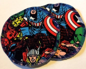 Marvel Heroes - Reusable Nursing Pads