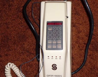 Vintage 1980's DATA-6000 Hand Set For Radio Telephone - Made in Canada by SEDATA