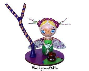Dragonfly Faery/ Cake Topper/Gift