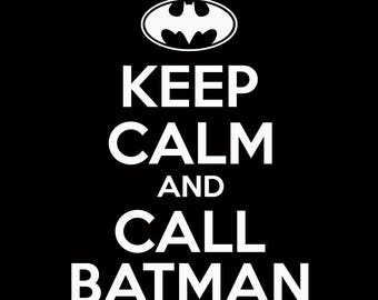 Keep Calm and ... Call Batman ... Call Superman ... Eat Cake Mug