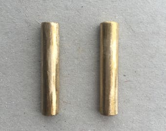 Half Round Drop Earrings