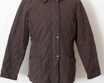 Cool Vintage Barbour Soft Duracotton Polarquilt Size UK 18