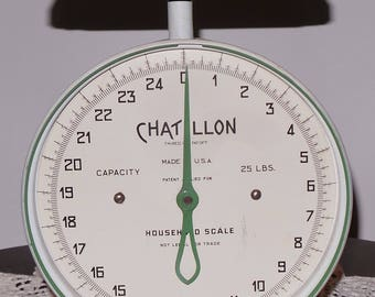Vintage Chatillon Kitchen Scale
