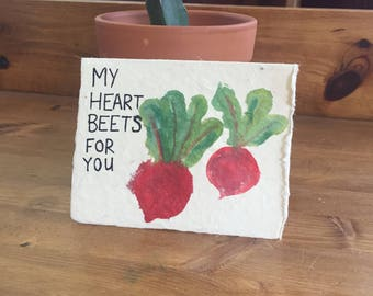 My Heart Beets for You card
