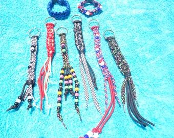 Key Chains/ Survival Bracelets