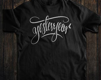 Calligraphy t-Shirt (Yesteryear)