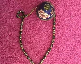 Necklace floral - series Barbara N4