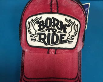 Born to Ride in Red
