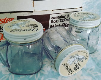 Vintage 1975 Oster Mini-Blend Containers