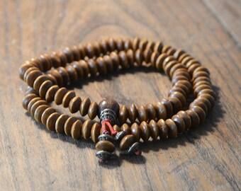 Tibetan mala bracelet