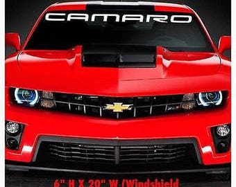 1950-2017 Chevrolet Camaro Z28 SS Windshield Body Decal New 1PC